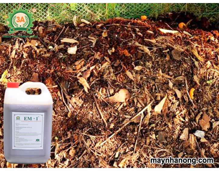 Cách ủ lá cây khô thành phân hữu