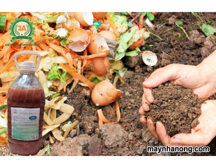 Quy trình ủ phân hữu cơ từ A đến Z