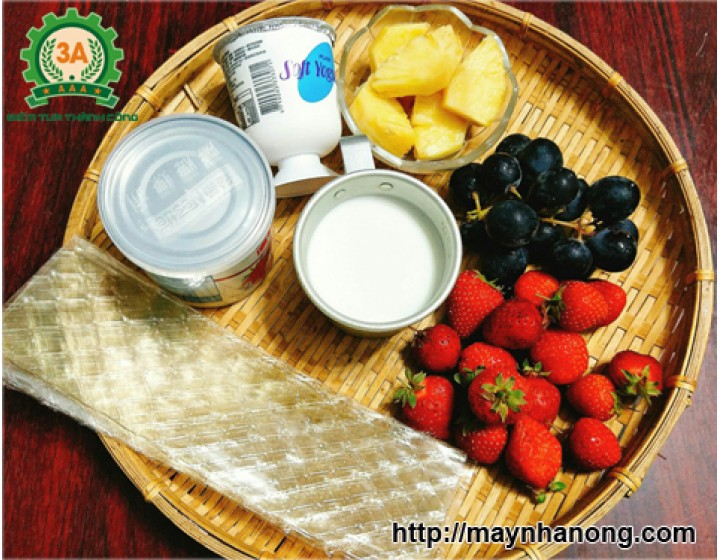 Cách làm sữa chua ngon uống cho mùa hè