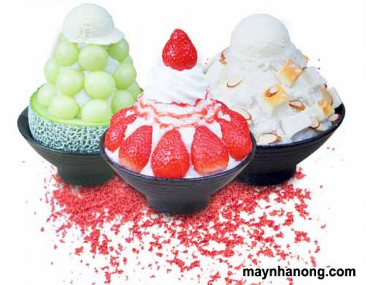 Cách làm kem tuyết