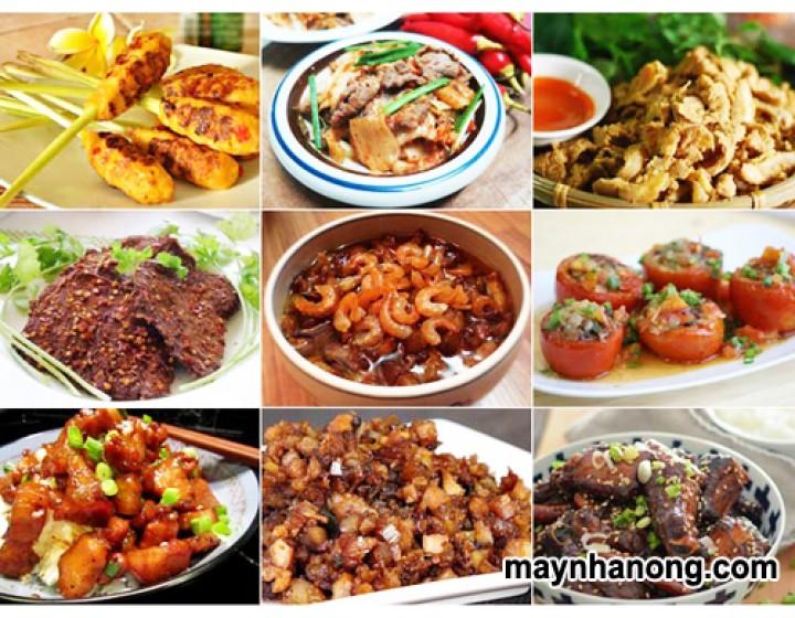 Cách chế biến các món ăn từ thịt heo