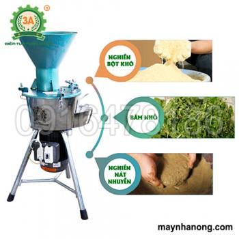 Máy chế biến thức ăn chăn nuôi 3A2.2Kw(Phễu tròn)