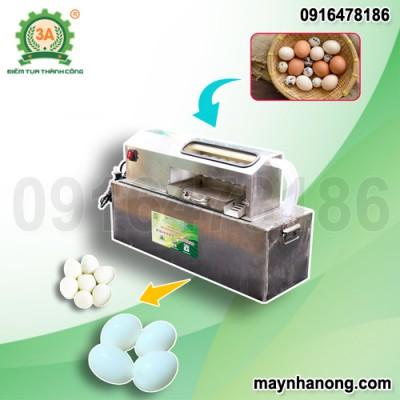 Máy bóc vỏ trứng gà, vịt 3A40W