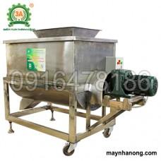 Máy trộn thức ăn chăn nuôi inox 3A5,5Kw