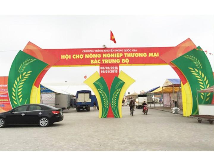 Hội chợ Nông nghiệp - Thương mại - Bắc Trung bộ 2016 tại Thanh Hóa