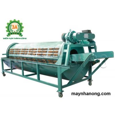 Máy rửa củ quả nông sản bằng xơ dừa 3A3Kw