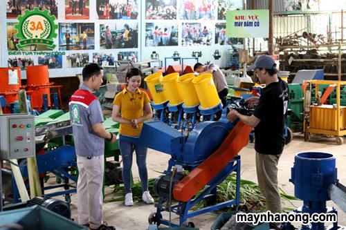 Nguyễn Hải Châu nhà sáng chế cùng đồng hành trong chương trình nông dân khởi nghiệp trên kênh VTC2