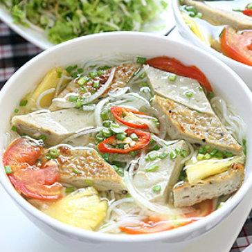 Cách nấu bún chả cá thơm ngon