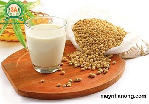 Cách làm sữa đậu nành nguyên chất