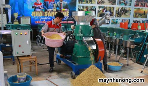 Máy ép viên thức ăn gia súc
