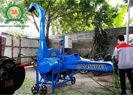 Cách chế tạo máy băm cỏ