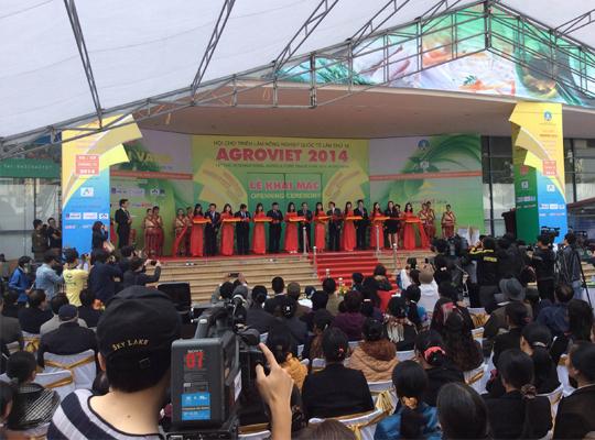 hội chợ triển lãm nông nghiệp quốc tế lần thức 14 Agro Viet 2014