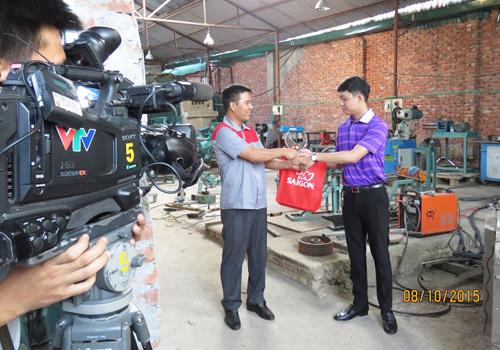 Nhà sáng chế Nguyễn Hải Châu với những chiếc máy thần kỳ